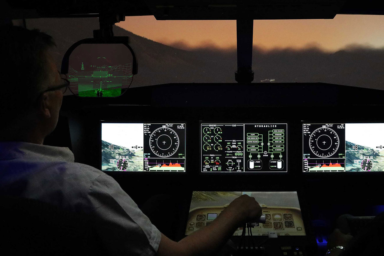 Zero Visibility Commercial Airline Enhanced Flight Vision System Technology